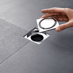 Geberit floor drain for showers