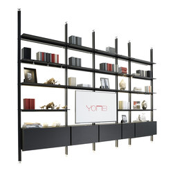 Magic Matrix Shelving system