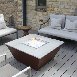 Aztec Gas Fire Table