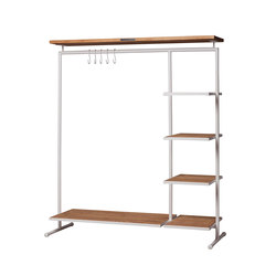 CLOTHING RACK 3 WOOD