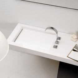 Washbasins Countertop Manufactured Corian®
