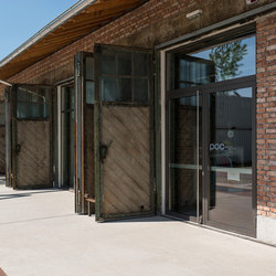 Steel doors, thermally insulated