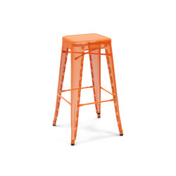 H perforated stools