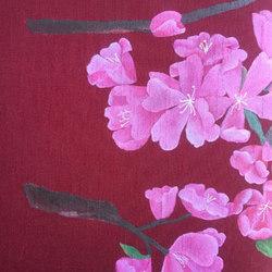 Custom Hand Painted Fabrics