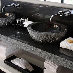Beveled Round Sink
