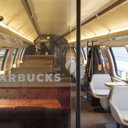 Starbucks on rails | Switzerland
