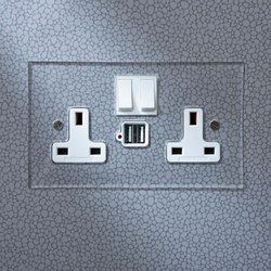 13amp socket with USB