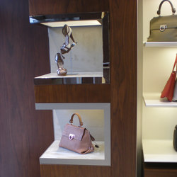 Display Niches For Shop Interior