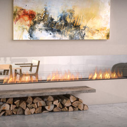 Flex Double Sided Fireplaces
