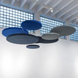 Ceiling panel round