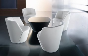 Ameo By Walter Knoll Lounge Chair Occasional Table