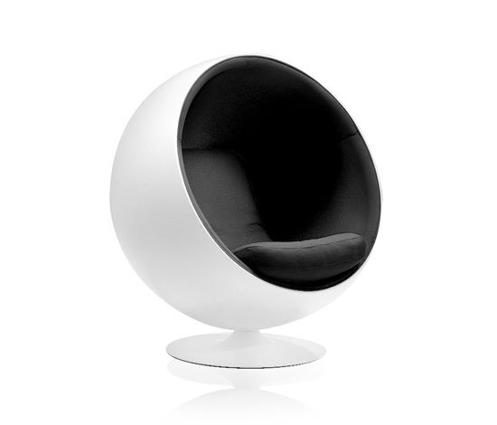 ball chair by adelta product. Black Bedroom Furniture Sets. Home Design Ideas