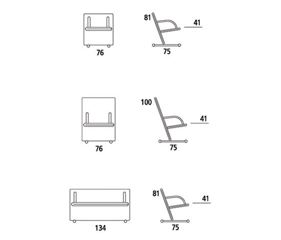 T-Line Sofa by ARFLEX