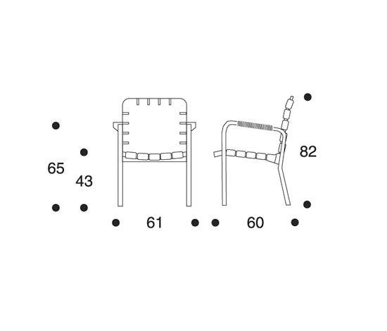 Armchair 45 di Artek