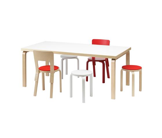 Aalto table rectangular 83 by Artek