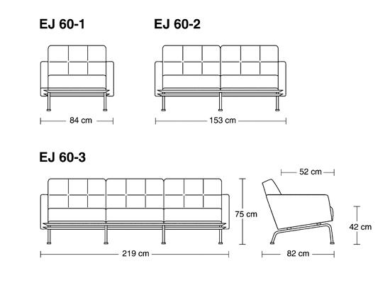 EJ 60 by Erik Jørgensen