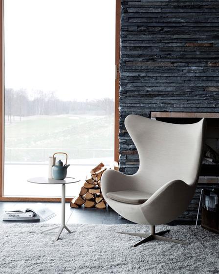 ei von fritz hansen 3316 3316 3127 fusshocker 3127. Black Bedroom Furniture Sets. Home Design Ideas