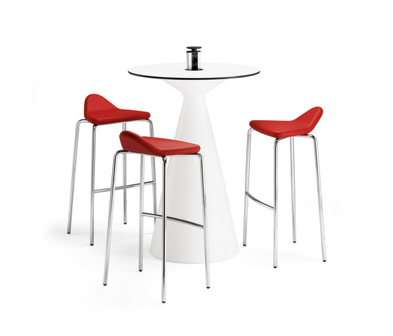 Plektrum barstool by Materia