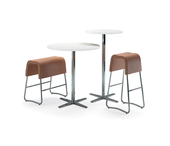 Plint bar stool by Materia