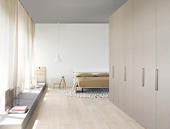 Tadao Double-size bed by Flou