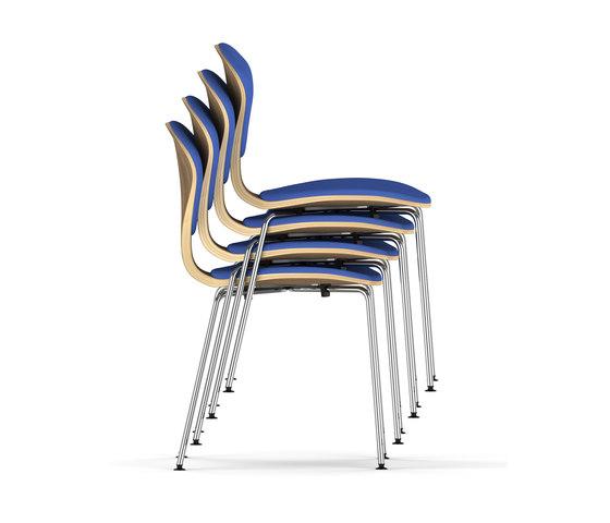 Cherner Metal Base Chair by Cherner