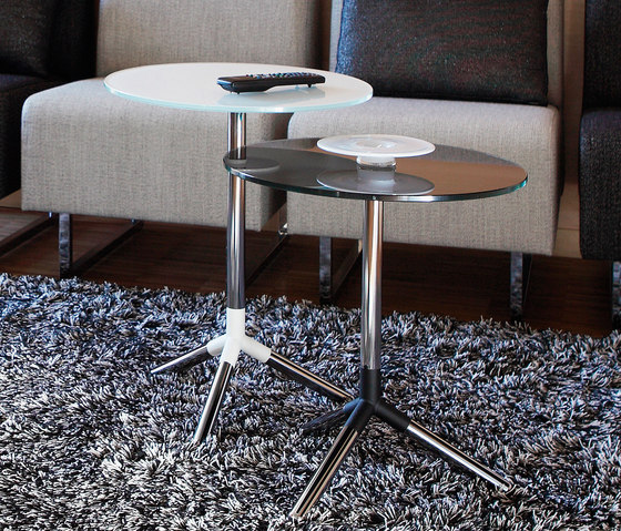 Obi pillar table by Materia