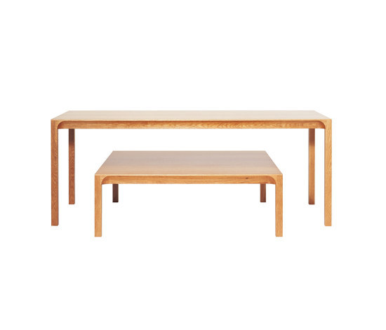Arc sofa table von ASPLUND