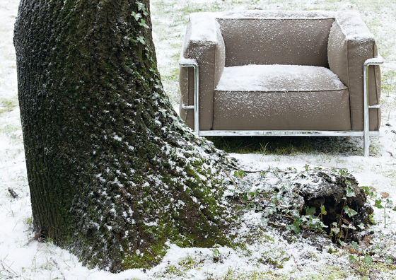 LC3 Outdoor Armchair by Cassina