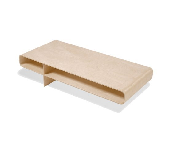 Loop By Isokon Plus Coffee Table Shelf Console Product