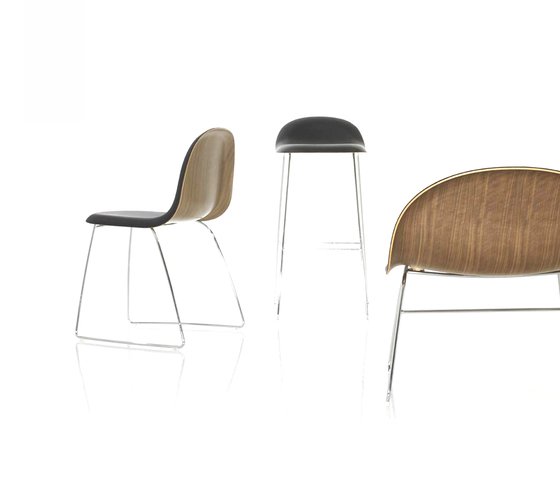 Gubi Chair – Wood Base de GUBI