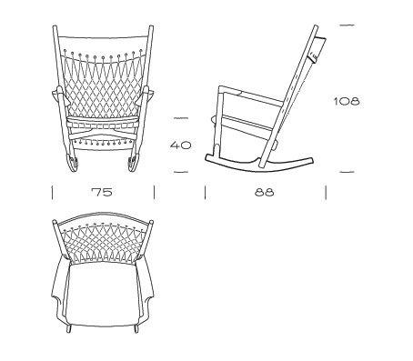pp124 | Rocking Chair von PP Møbler