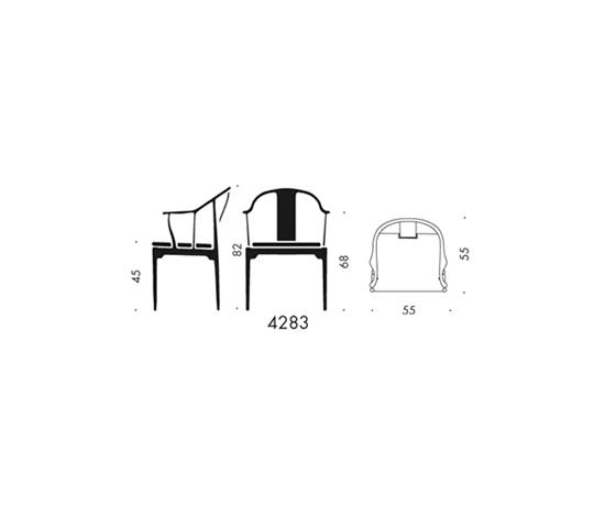 China Stuhl™ | 4832 von Fritz Hansen