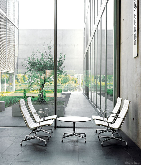 Aluminium Chair EA 116 by Vitra