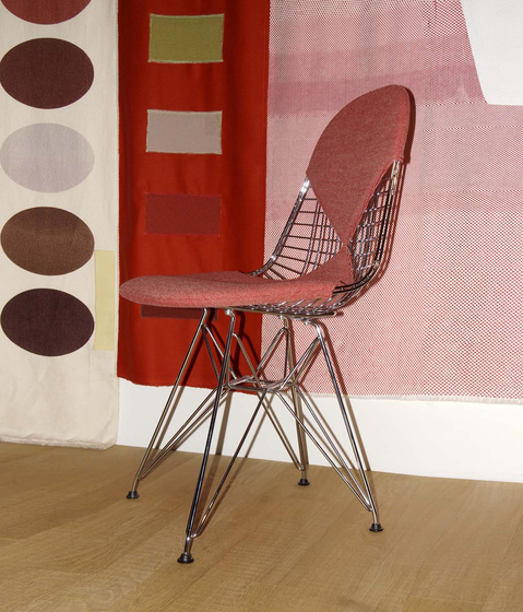 Wire Chair DKR-2 by Vitra