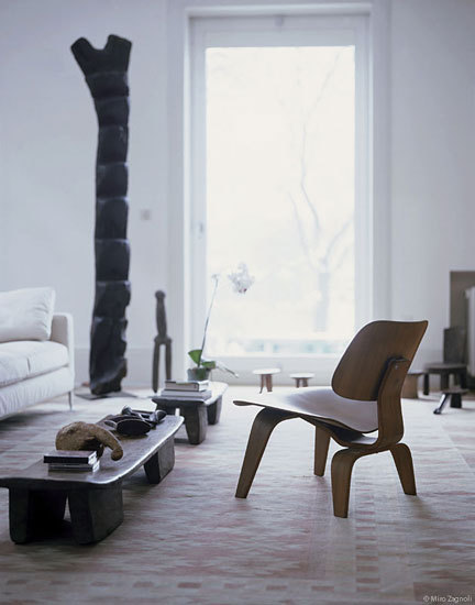 Plywood Group LCW Calf's Skin by Vitra