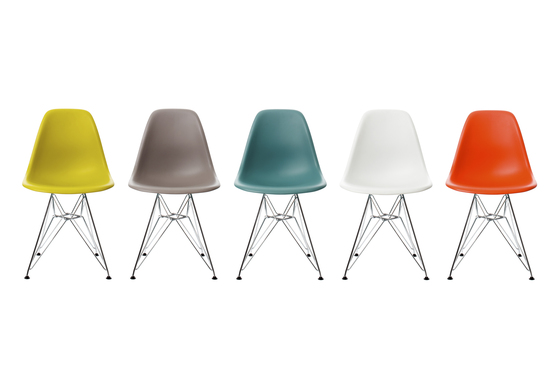 Eames Plastic Side Chair DSX by Vitra