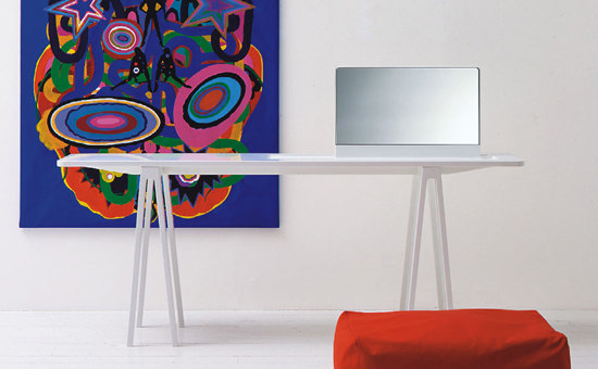 Console with Mirror | WM/1 by Cappellini