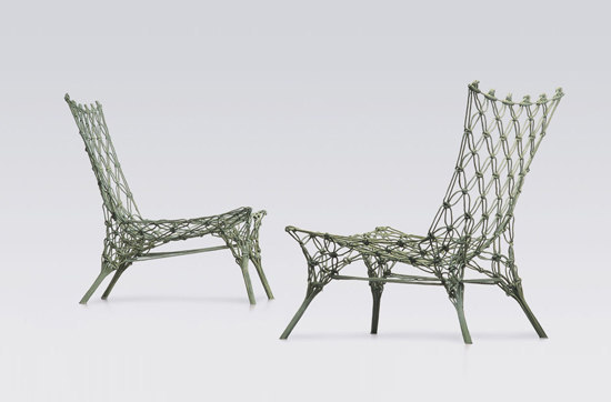 Knotted Chair | KC/1 by Cappellini