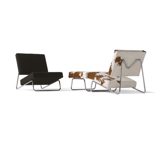 Lounge Chair/Ottoman Hirche von Richard Lampert