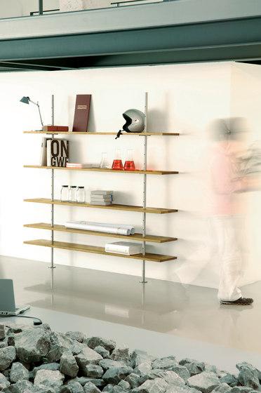 Eiermann shelving by Richard Lampert