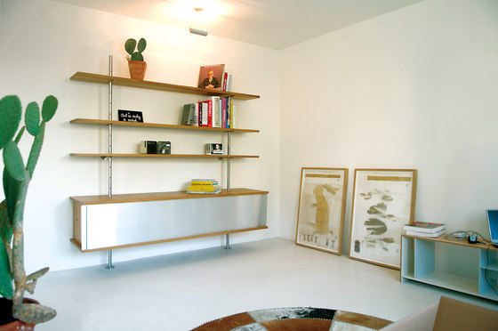 Eiermann shelving de Richard Lampert