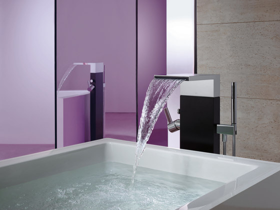 MEM - Deck-mounted bath shower set by Dornbracht