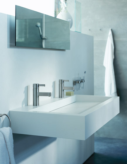 AXOR Steel Double Towel Holder by AXOR