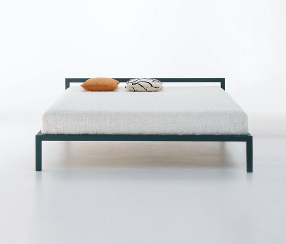 Aluminium Bed by MDF Italia