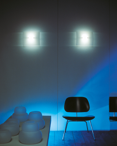Glass / Glass G Wall lamp by segno