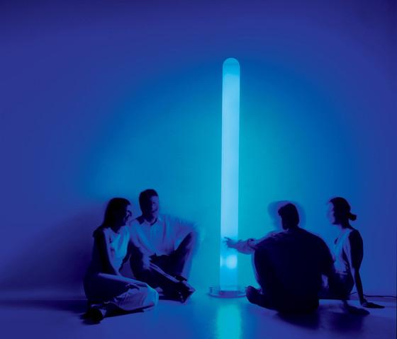Metacolor floor lamp by Artemide
