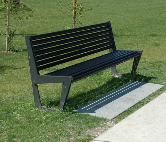 BURRI 02 Bench without backrest by BURRI