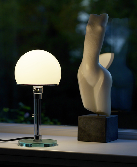 WG25GL Bauhaus Table lamp by Tecnolumen