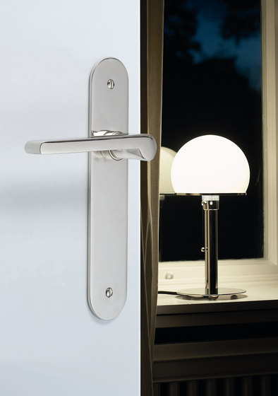 Wilhelm Wagenfeld Lifting-Sliding door fitting by Tecnoline