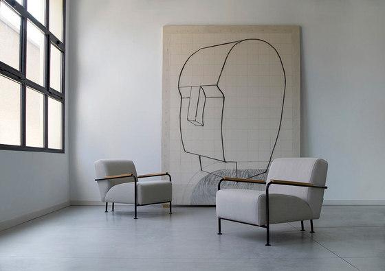 Colubi armchair di viccarbe